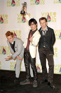 Green Day at VMA
